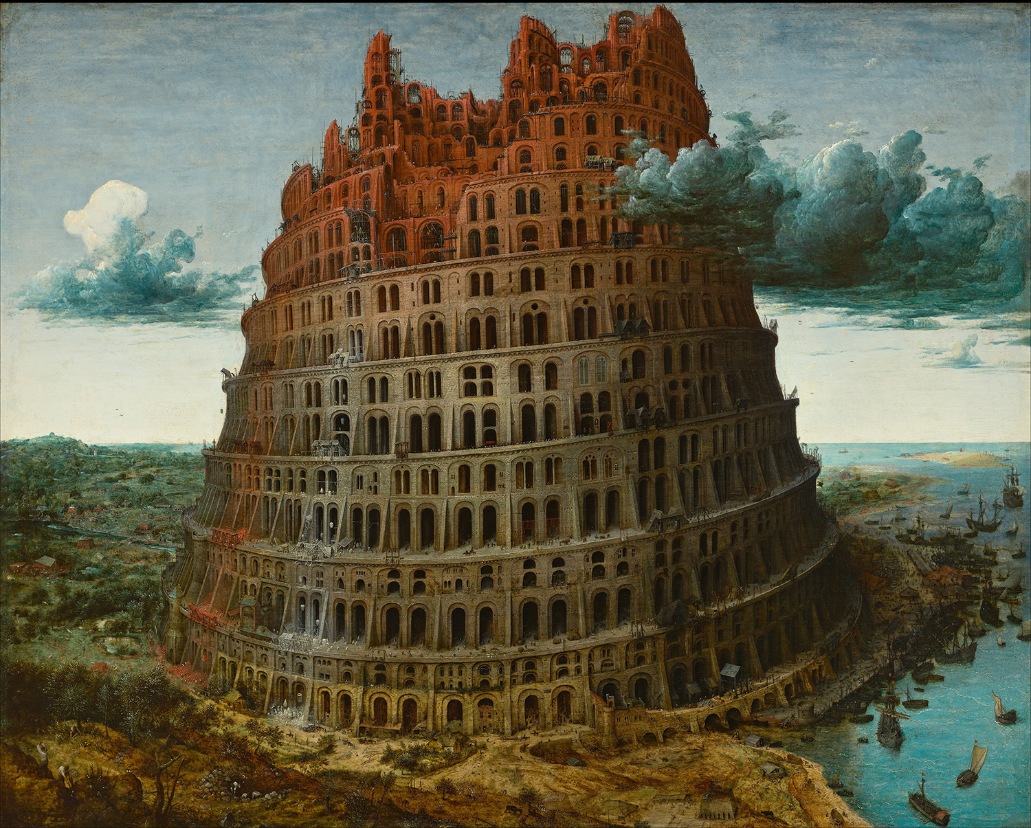 Pieter Bruegel the Elder The Tower of Babel (Rotterdam)