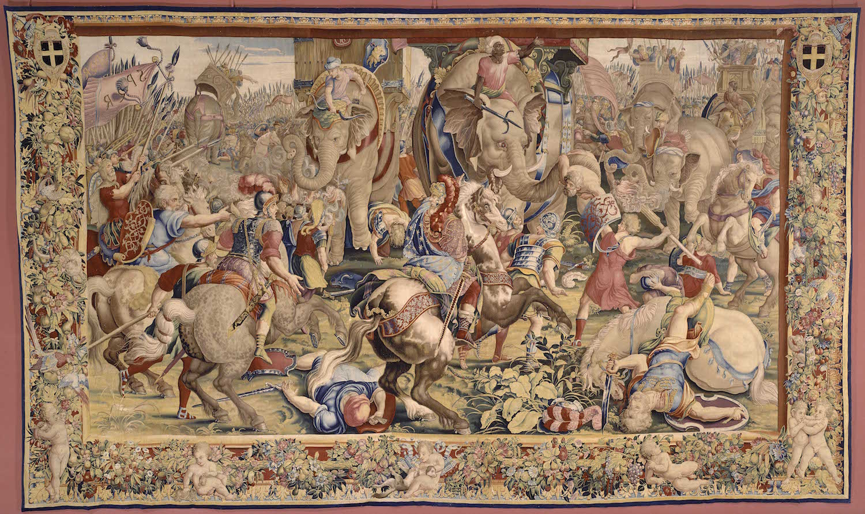 3-la_bataille_de_zama_jules_romain-gobelin-tapestry-1500