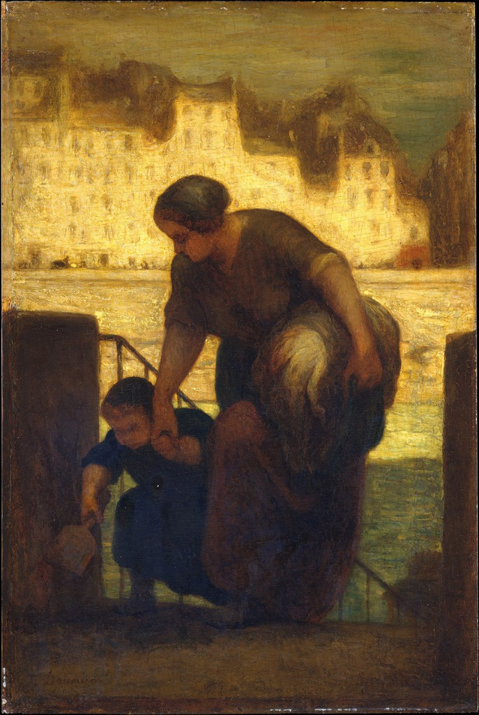 2-honore-daumier-the-laundress