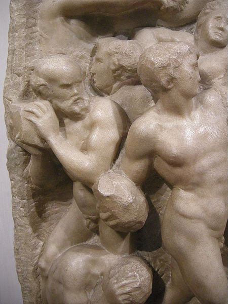 11-battle-of-the-centaurs-michelangelo-detail