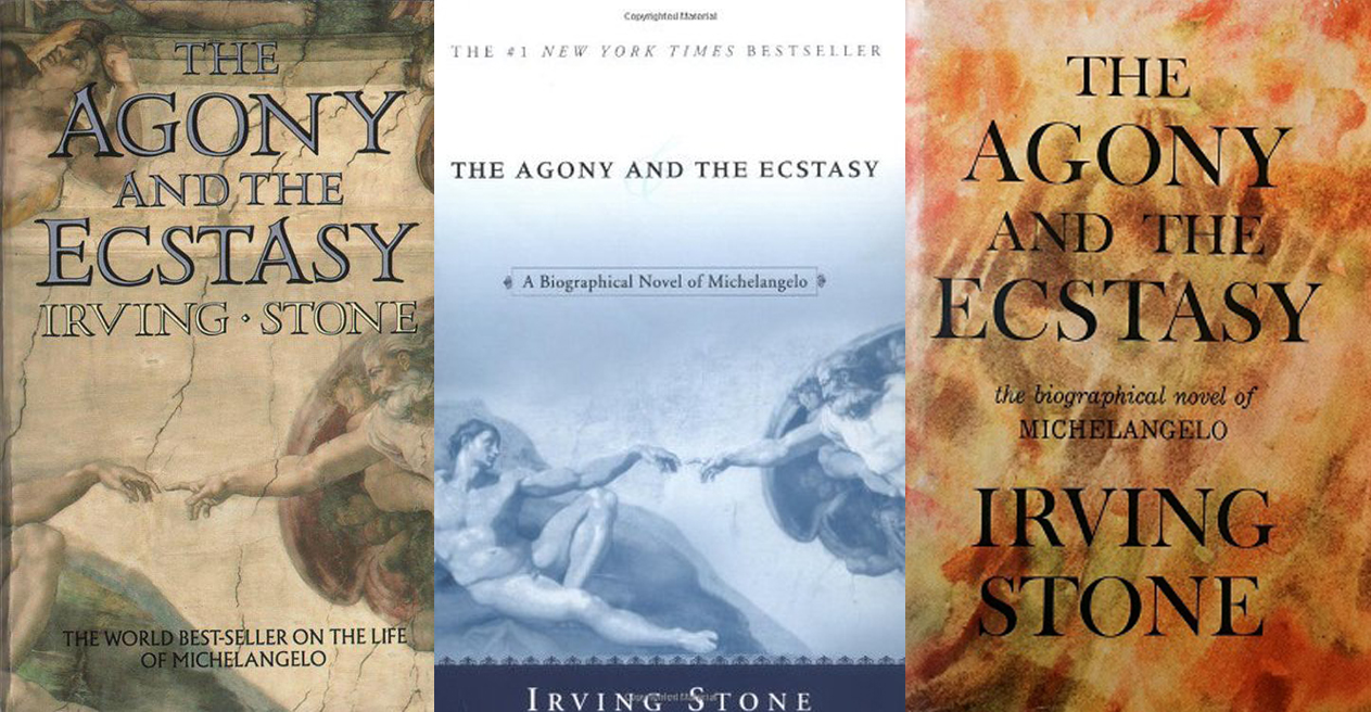 2-agony-and-ecstacy-irving-stone-covers
