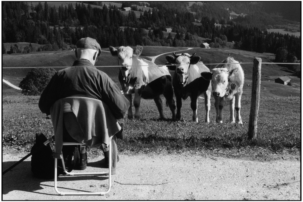 """Henri Cartier-Bresson Dessinant"" Copyright Martine Franck"