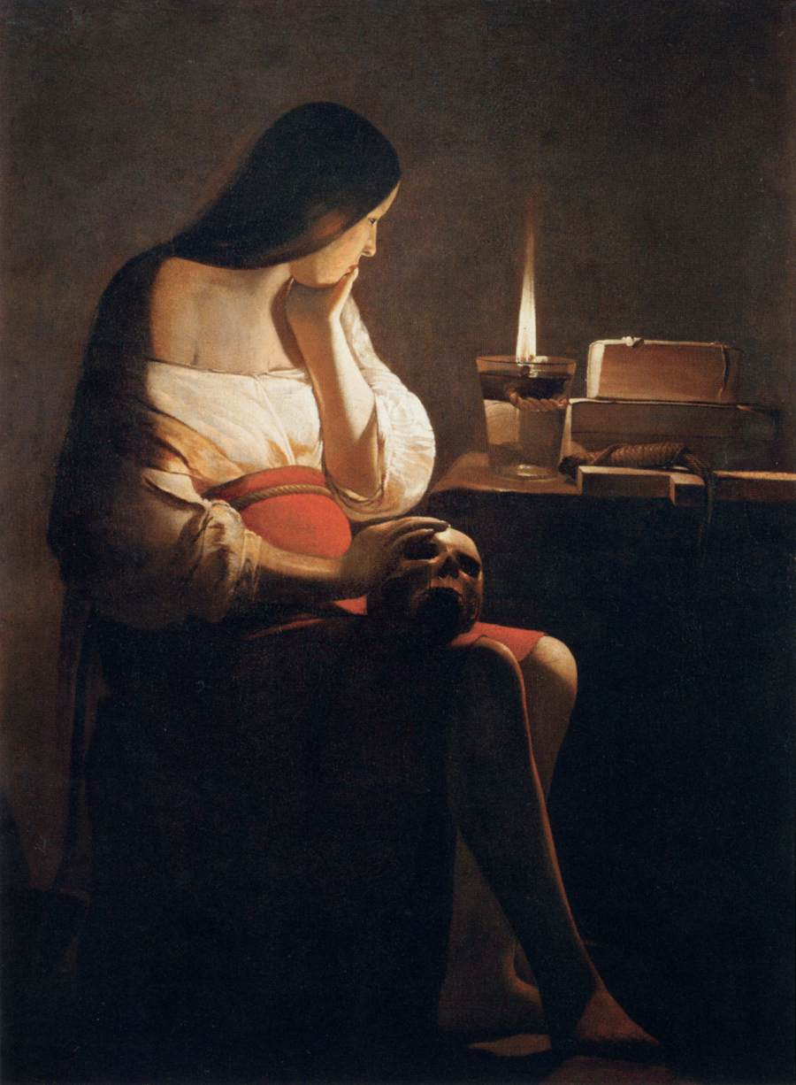 16 Georges_de_La_Tour_Magdalen_of_Night_Light
