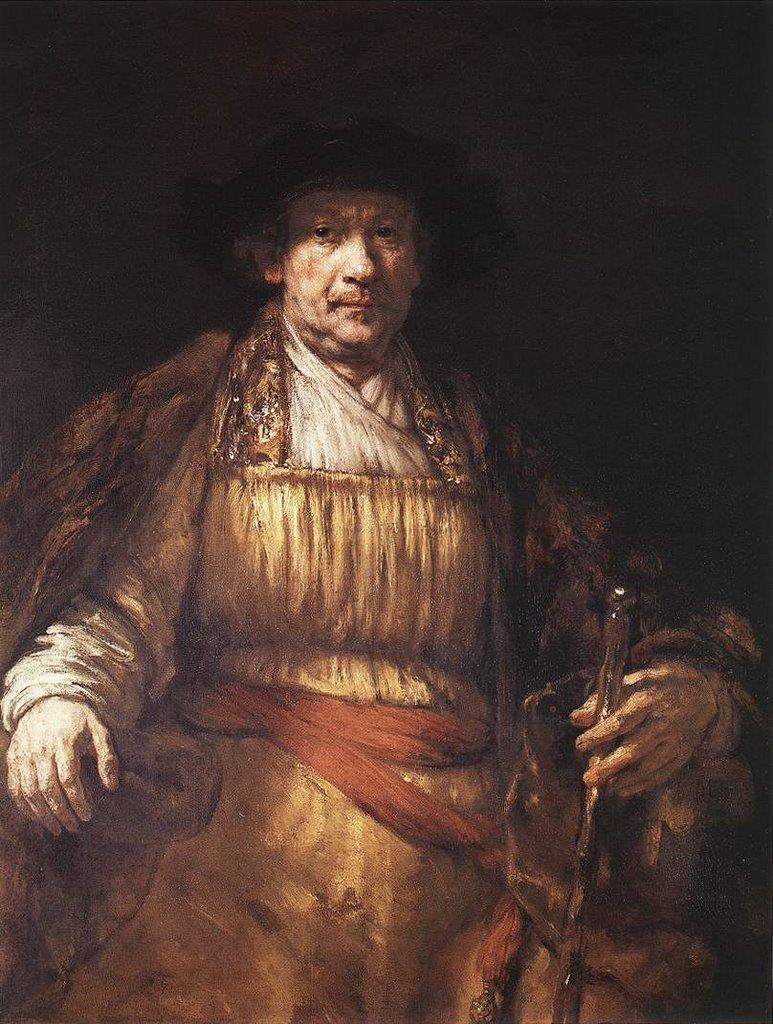 18 Rembrandt Selt portrait 1658