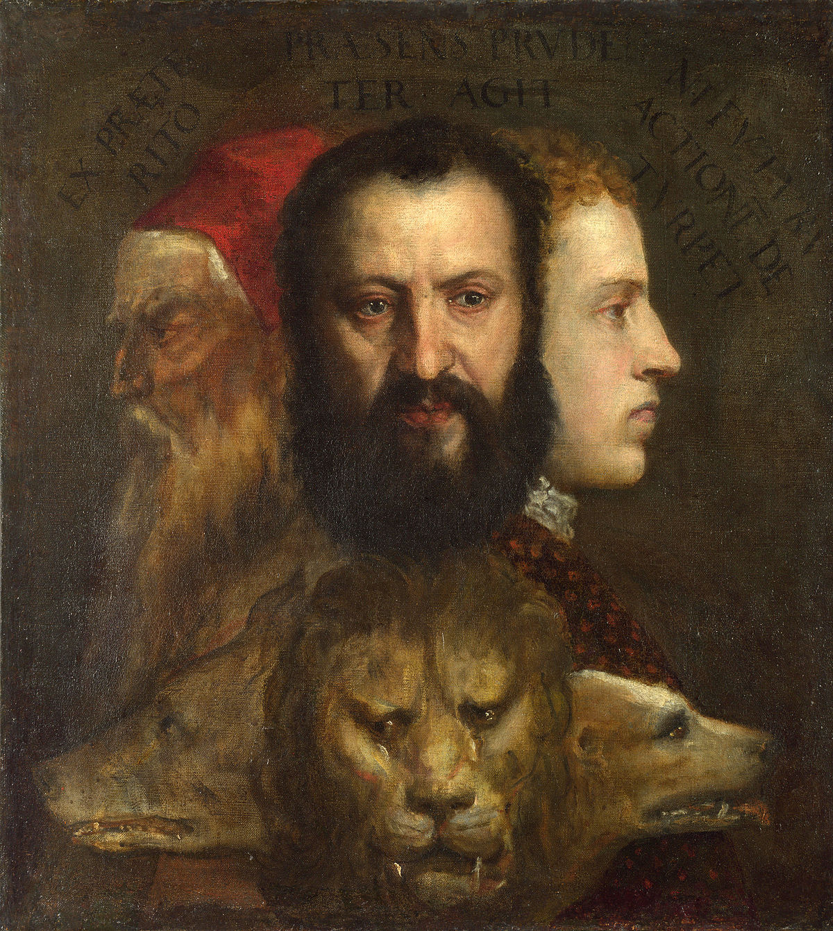 7 Allegory of Prudence Titian