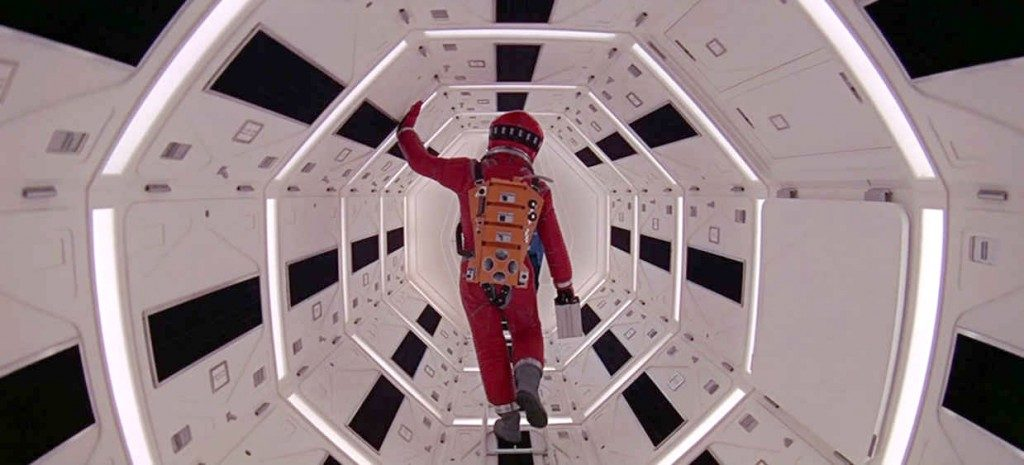 2001 A Space Odyssey (1968) Linear Perspective