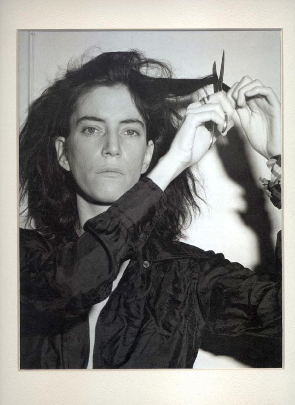 Patti Smith Cutting Hair Robert Mapplethorpe Composition Adam Marelli Photography Workshops