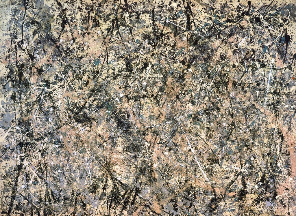 Jackson Pollock Number 1 (Lavender Mist) 1950 Composition Adam Marelli Photography Workshop