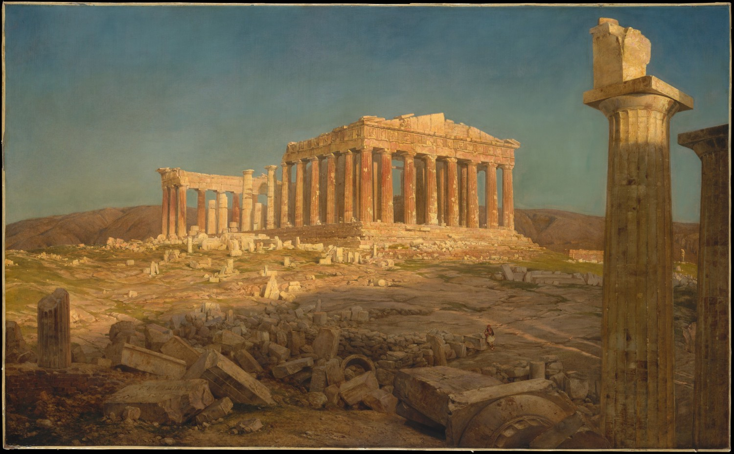 1 The Parthenon Fredric Edwin Church