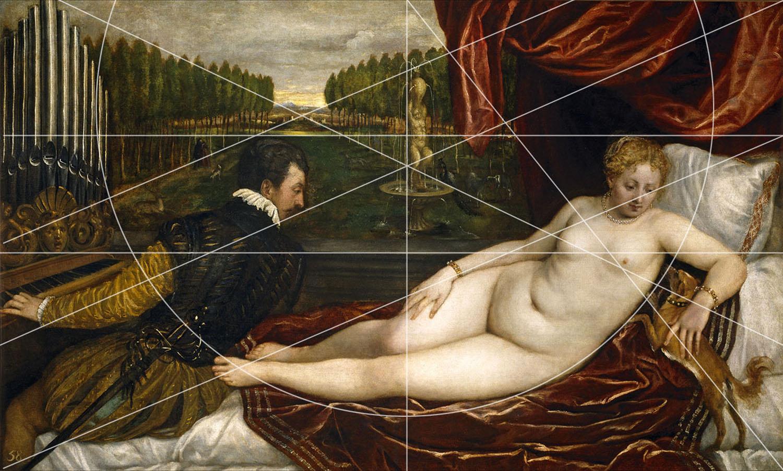 Titian Venus Et Le Joueur D'orgue