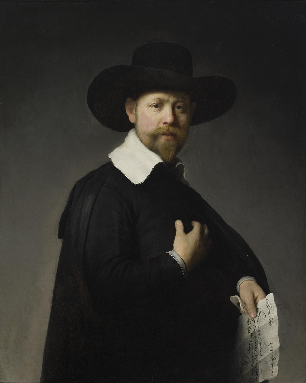 7 Portrait of Marten Looten Rembrandt