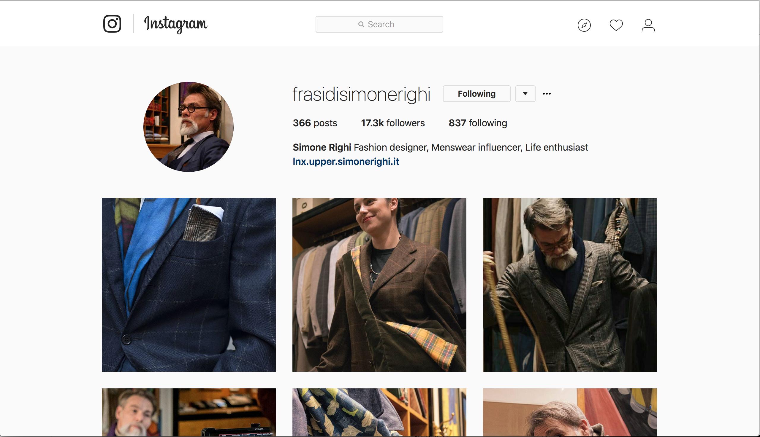 12 Simone Righi's Instagram