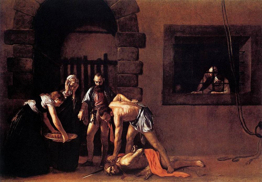13 Caravaggio The Beheading of St John the Baptist