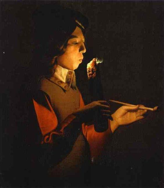 15 Blower with a pipe George de La Tour