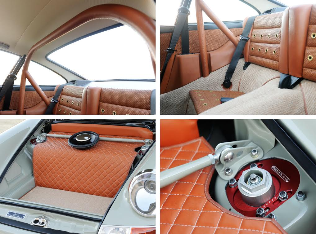 Singer Porsche Interior