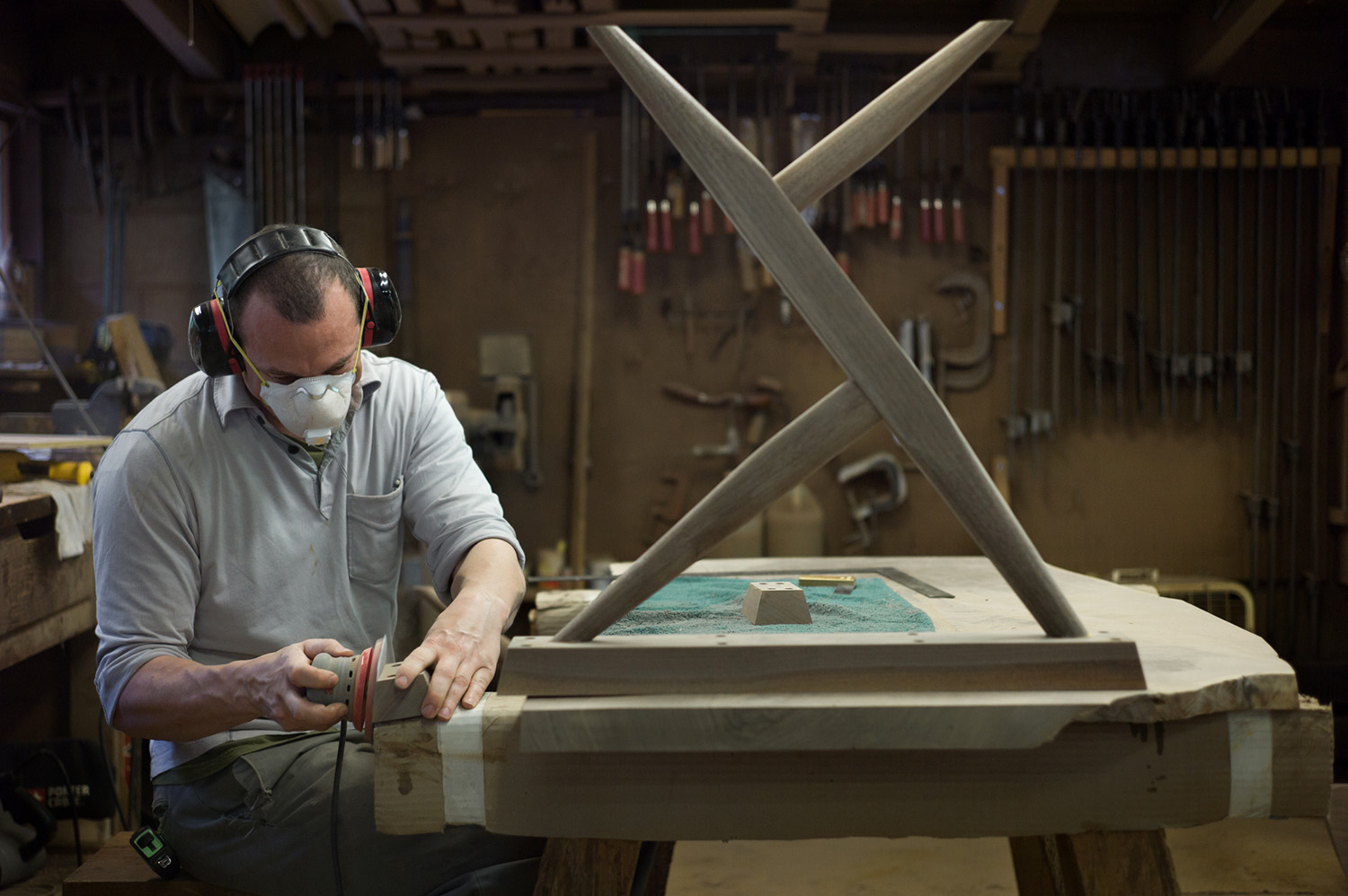 Michael Veith Nakashima Woodworkers Craftsmen Copyright Adam Marelli