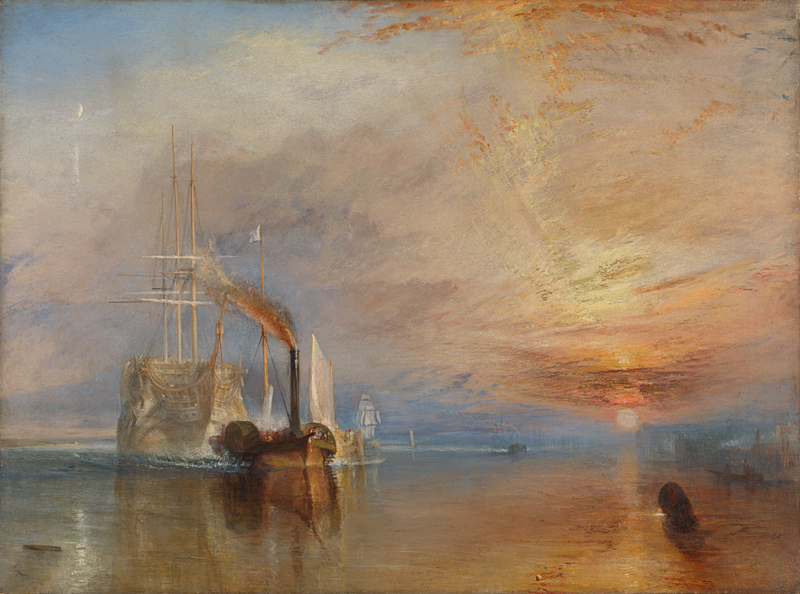 JMW Turner The Fighting Temeraire