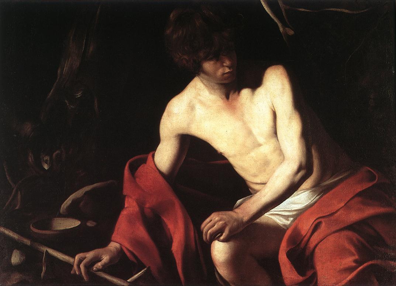 Caravaggio St John Composition Root Adam Marelli Photography Workshops