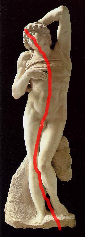 Michelangelo Slave Composition Arabesque Adam Marelli Photography Workshops