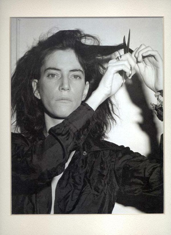 Patti Smith Cutting Hair Robert Mapplethorpe Composition Adam Marelli Photography Workshops